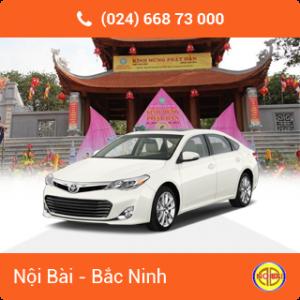 Taxi Nội Bài đi TP Bắc Ninh