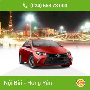 Taxi Nội Bài đi TP Hưng Yên giá rẻ