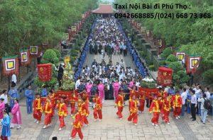 Taxi Nội Bài đi Thị Xã Phú Thọ