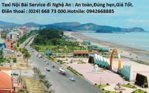 Taxi Nội Bài đi TP Nghệ An