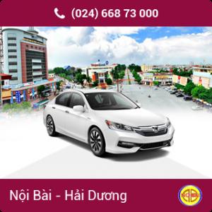 Taxi Nội Bài đi Thành phố Hải Dương giá rẻ